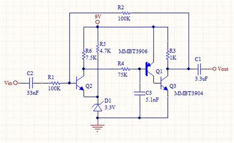 transistor voltage lifier calculator discretetransistor ac op circuit
