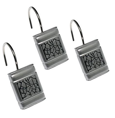 sinatra bathroom accessories popular bath quot sinatra silver quot shower curtain hooks set of