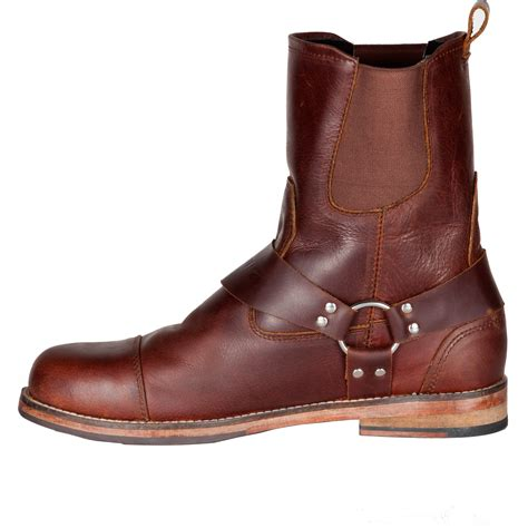 mens brown motorcycle boots spada kensington motorcycle boots brown leather motorbike