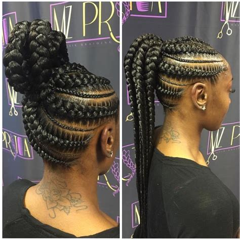Up Africian Braiding Hair Style | 17 best ideas about black braided hairstyles on pinterest