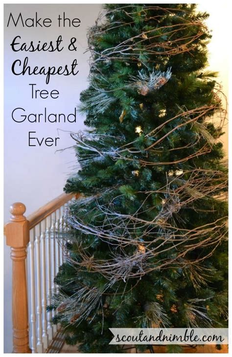 christmas tree decorating holidayhome diy tree garland