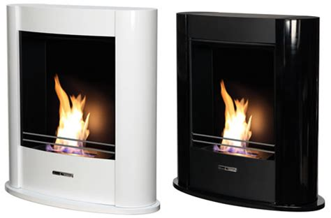 Convection Fireplace by Convection Fireplace Vioflame Elegance Black