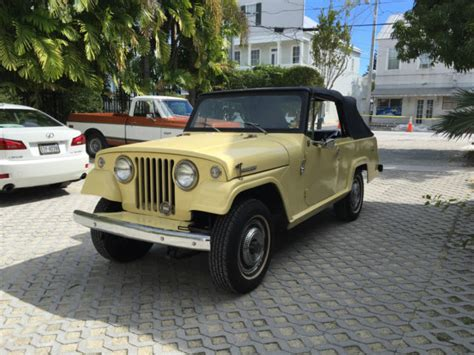 jeep convertible 1969 jeepster convertible