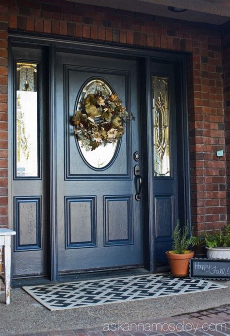 front door colors for brick house 1000 ideas about exterior door colors on