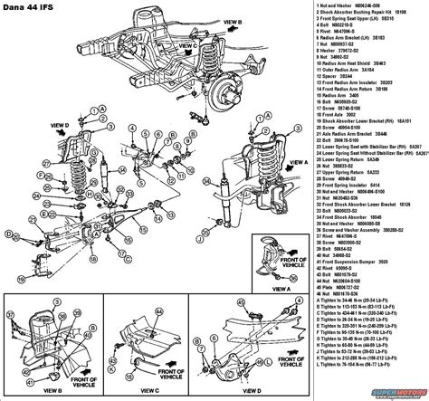 diagram f350 4x4 front suspension diagram