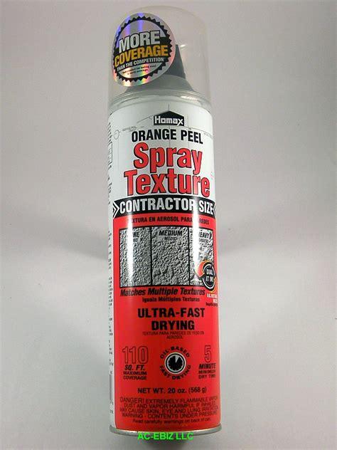 spray paint orange peel fix details about homax 4055 orange peel based spray