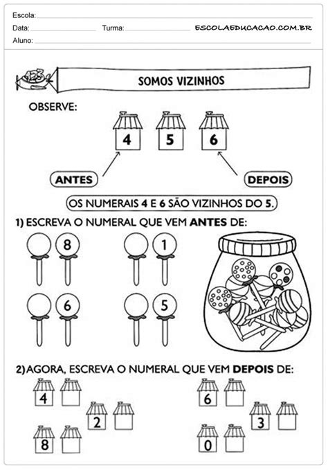Atividades de Matemática - 2º ano - Para Imprimir