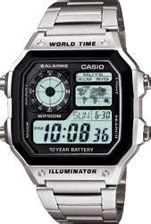 Casio Standard Ltp 1361d 9av g shock analog 1 20 second chronograp gac 100 series
