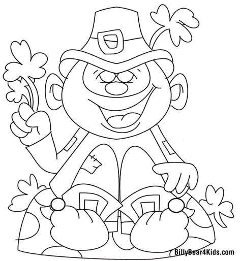 billy bear coloring pages 11 best st patrick s day images on pinterest saint
