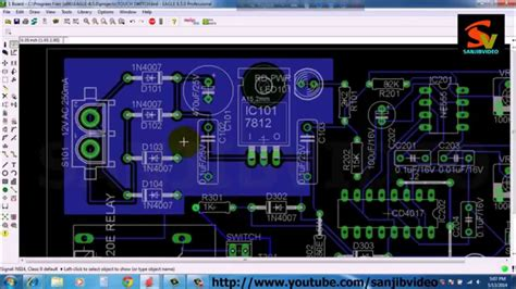 pcb layout design youtube eagle 10 of 12 pcb layout ground planes how to