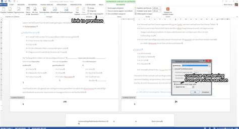 word page numbers sections microsoft word page numbering and sections super user