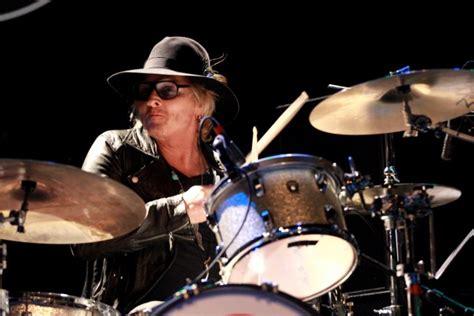 matt sorum drum kit former guns n roses drummer matt sorum reportedly wasn t