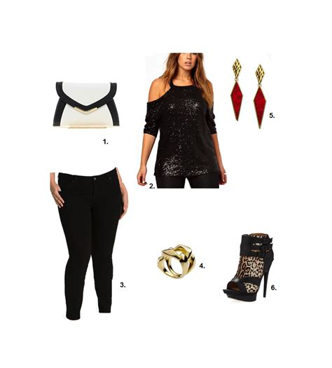 outfit ideas girls night  shapely chic sheri