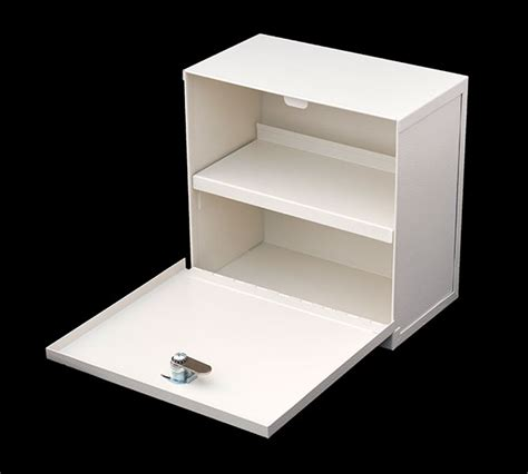 Small Single Lock Prescription Lockbox/Medication Cabinet