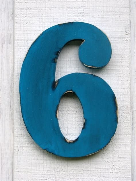 woodworking directory rustic wooden numbers 6 distressed painted island