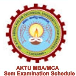 Aktu Mba Syllabus 2017 by Aktu Mba Mca 2nd 4th Sem Datesheet Schedule 2018