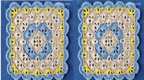 cuadro y flores tejidos a crochet n 186 02 youtube cuadro tejido ep1 ganchillo crochet youtube cuadros con