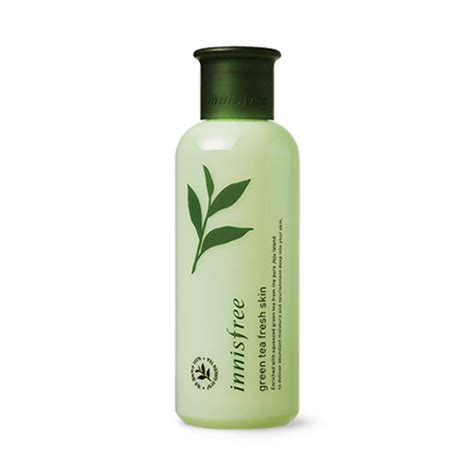 Innisfree Green Tea Fresh Skin n豌盻嫩 hoa h盻渡g innisfree green tea fresh skin