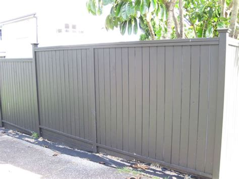 shiplap nz wooden timber shiplap fence with flat top built by