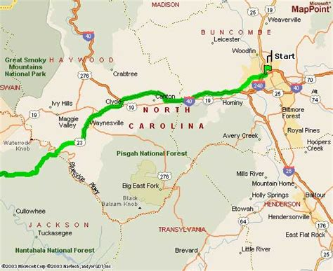 carolina map asheville nc mountain vacation rental cabin directions from
