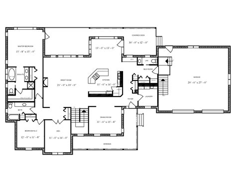 how big is 2500 square feet 2500 sq ft bungalow house plan 1099 canada