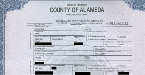 Records Alameda County Birth Certificate California Alameda County Image