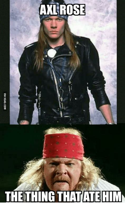 Axel Rose Meme - fat axl pics that fat axl isn t suing people over yet