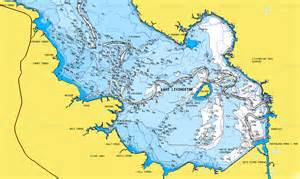 map of lake livingston cape royale boating association 2013 lake chart