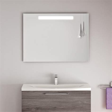 specchio bagno con cornice specchio da bagno con led incorporato alabama arredaclick