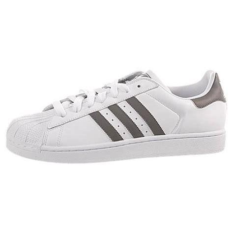 adidas superstar 2 shell toe g24316 run white iron grey leather casual shoe ebay