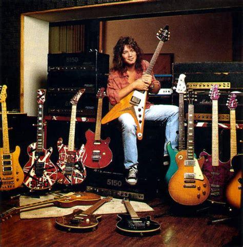eddie van halen dragon guitar evh 5150 studio favorite musicians instruments