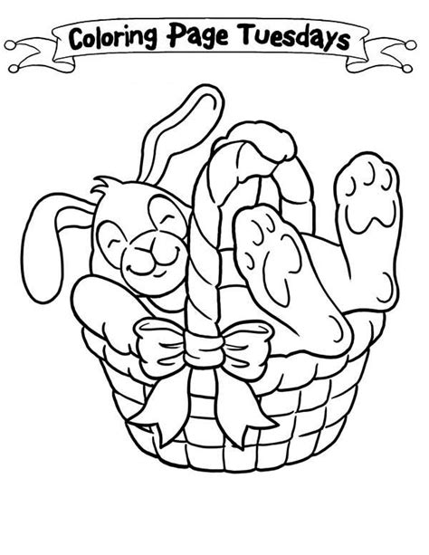 coloring page of empty easter basket empty easter basket coloring page happy easter 2018