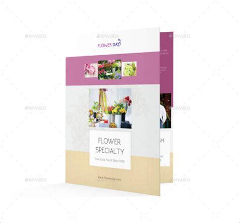 Wedding Flowers Free Brochure by Florist Brochure Templates Free Psd Vector Eps Jpg