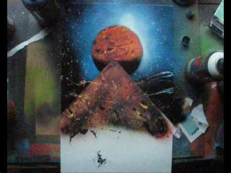 spray paint how to for beginners beginner spacepainting demonstration