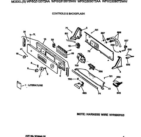 ge profile washer parts diagram ge washer tub basket agitator parts model