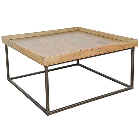 Coffee Table Tray Square Tray Coffee Table At 1stdibs
