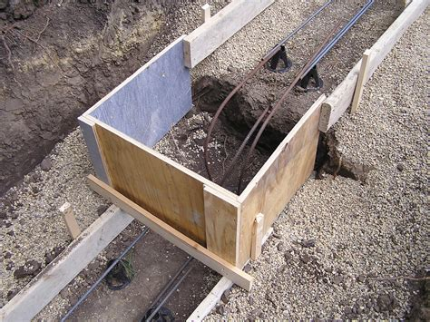 Footings   Fros Carpentry