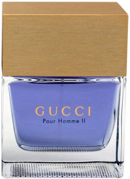 gucci pour homme ii by gucci for eau de toilette 100ml price review and buy in dubai