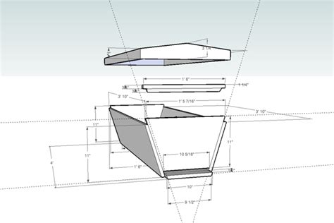 top bar hive plans wooden working