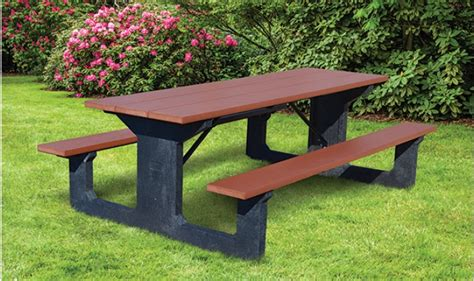 commercial picnic benches goliath commercial picnic tables kirbybuilt products