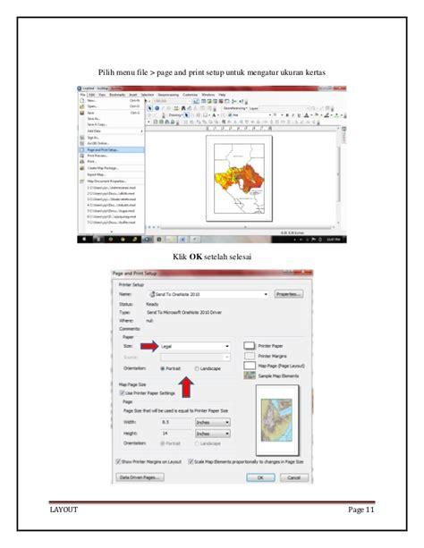 pengertian layout pada arcgis layout pada arcgis 10 0