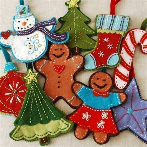 felt christmas ornaments patterns browse patterns