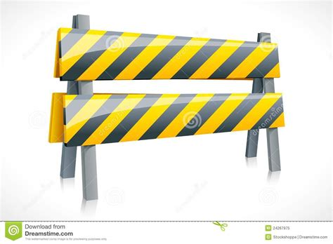 Road Barrier 9 11 vector road barrier royalty free stock photo image 24267975