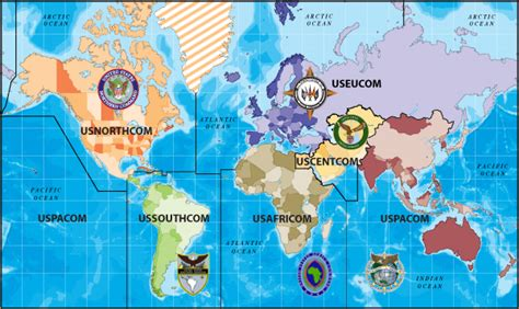 combatant command map unified combatant command map united states transportation