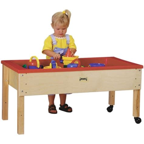 sensory table for toddlers jonti craft sensory table toddler height 0286jc on sale now