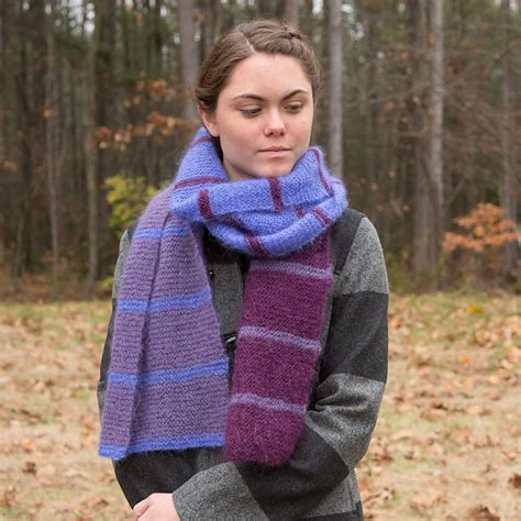 knitting patterns galore scarves knitting patterns galore easy striped scarf