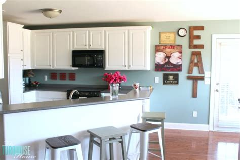 diy painting kitchen cabinets white sea salt kitchen the turquoise home