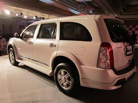 indian made cars india made isuzu mu 7 rear three quarters indian autos blog