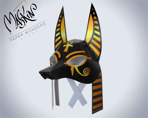 printable anubis mask anubis mask template www pixshark com images galleries