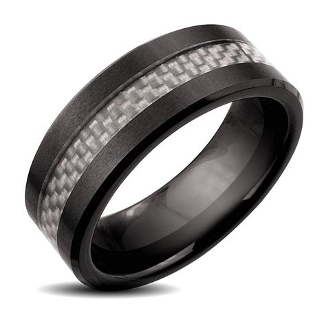 Wedding Wedding Bands by 2018 Popular Black And Silver S Wedding Bands
